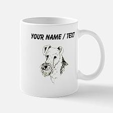 Wire Fox Terrier (Custom) Mugs