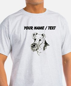 Wire Fox Terrier (Custom) T-Shirt