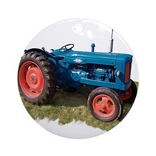 Fordson Vintage Tractor Ornament (Round)