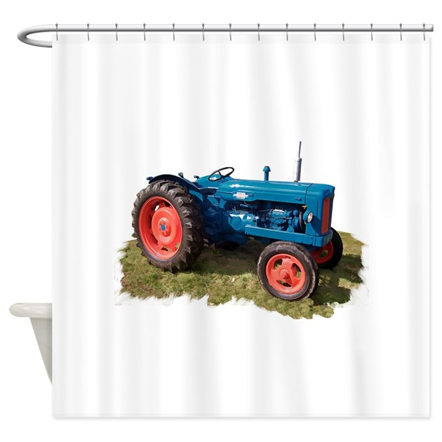 Tractor Shower Curtain : Fordson vintage tractor shower curtain by admin cp