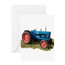 Fordson Vintage Tractor Greeting Cards