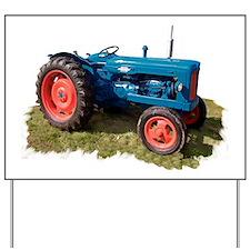 Fordson Vintage Tractor Yard Sign