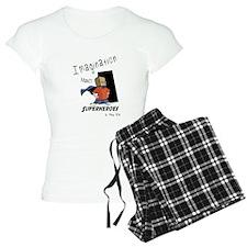 Imagination makes superhero Pajamas