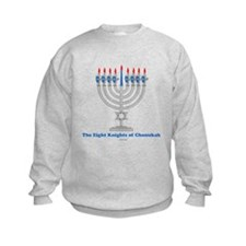 Eight Knights Of Chanukah Sweatshirt