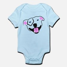 Unique American bull dog Infant Bodysuit