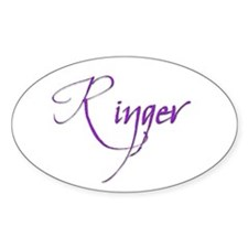Ringer 26 Oval Decal