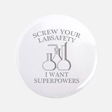 """I Want Superpowers 3.5"""" Button"""