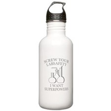 I Want Superpowers Water Bottle
