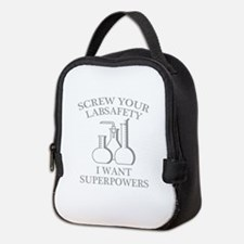 I Want Superpowers Neoprene Lunch Bag
