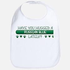 Hugged Blue Bib