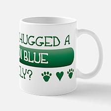Hugged Blue Mug