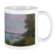 SUNDAY AFTERNOON VIEW OF ST. AUGUSTINE Mugs