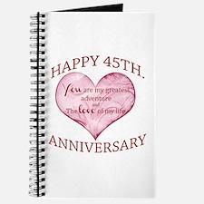 45th. Anniversary Journal
