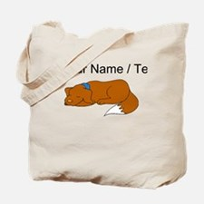 Dog Sleeping (Custom) Tote Bag