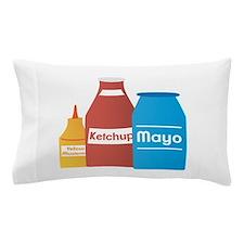 Condiments Pillow Case