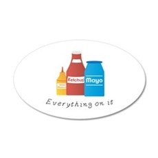 Everything On It Wall Decal