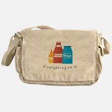 Everything On It Messenger Bag