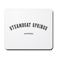 Steamboat Springs Colorado Mousepad