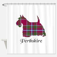 Terrier - Perthshire dist. Shower Curtain