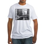 Dallas, Downtown-1950's #2 Fitted T-Shirt