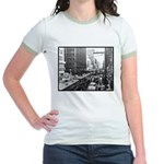 Dallas, Downtown-1950's #2 Jr. Ringer T-Shirt