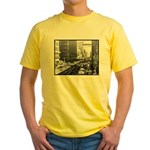 Dallas, Downtown-1950's #2 Yellow T-Shirt
