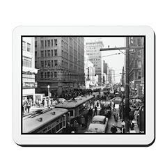 Dallas, Downtown-1950's #2 Mousepad
