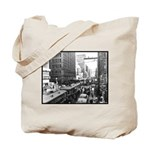 Dallas, Downtown-1950's #2 Tote Bag