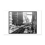 Dallas, Downtown-1950's #2 Mini Poster Print