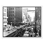 Dallas, Downtown-1950's #2 Small Poster