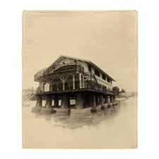 Boathouse 5 Throw Blanket