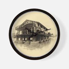 Boathouse 5 Wall Clock
