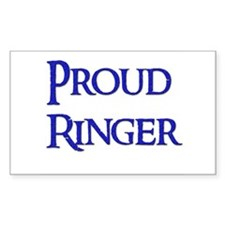 Proud Ringer 11 Rectangle Decal