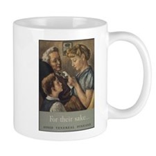 world war 2 poster art Mugs