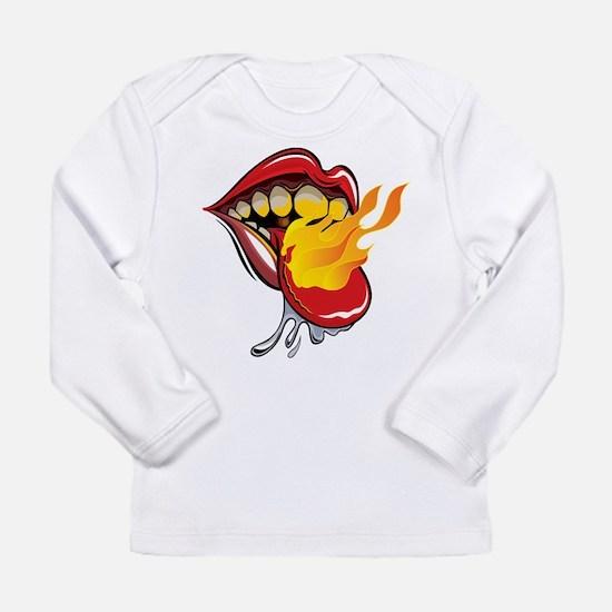 Soyracha Flaming Tongue Long Sleeve T-Shirt