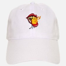 Soyracha Flaming Tongue Baseball Baseball Baseball Cap