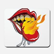 Soyracha Flaming Tongue Mousepad