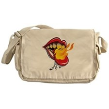 Soyracha Flaming Tongue Messenger Bag