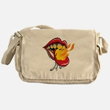 Soyracha Flaming Tongue Messenger Bag