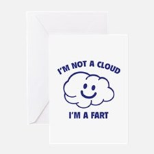 I'm Not A Cloud Greeting Card