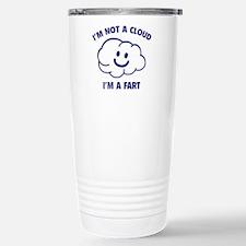 I'm Not A Cloud Ceramic Travel Mug