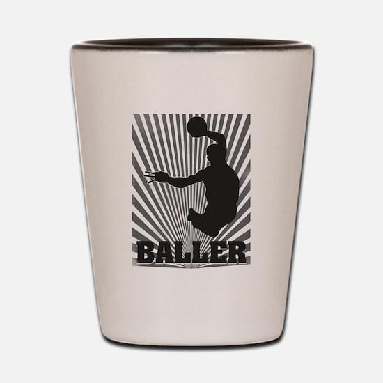 Baller Shot Glass
