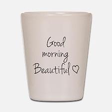 Good Morning Shot Glass