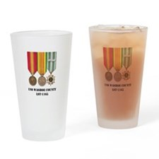 USS Washoe County Drinking Glass