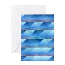 Blue plastic bars Greeting Cards