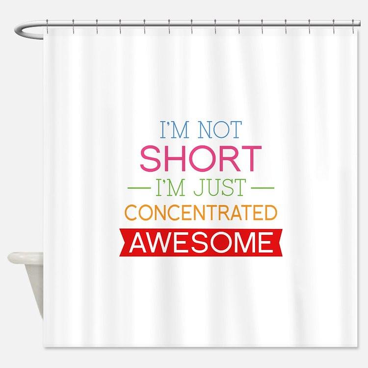 short shower curtains | short fabric shower curtain liner