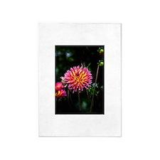 Cactus Dahlia 1 5'x7'Area Rug