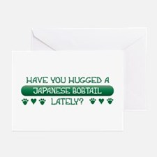 Hugged Bobtail Greeting Cards (Pk of 10)