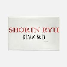 Shorin Ryu Black Belt 1 Rectangle Magnet