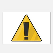 Traffic Sign Postcards (Package of 8)